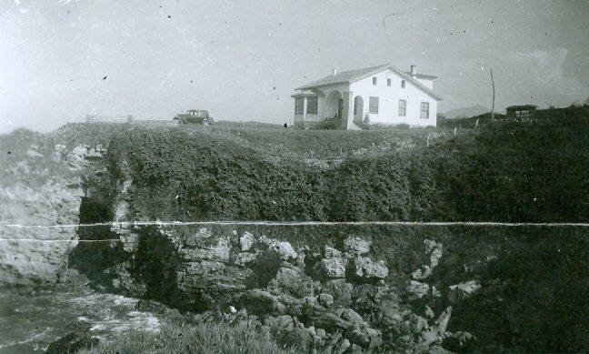 El Pastote, la casa que construyo dedicada a su mujer en su amada Asturias. Actualmente aún la conservan sus herederos.