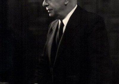 Julio Casares retrato Académico discurso