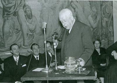 Julio Casares. Conferencia en el Ateneo
