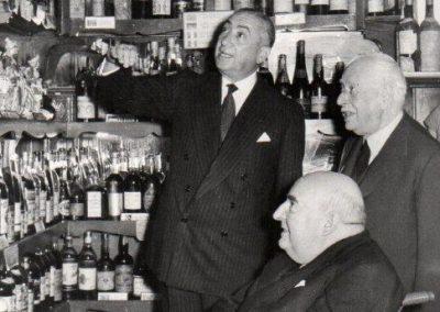 Julio Casares con Pedro Chicote