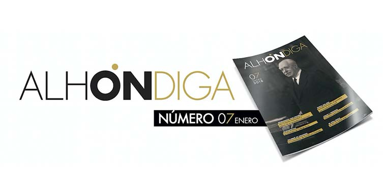 Reportaje sobre Julio Casares en la revista Alhondiga de Granada