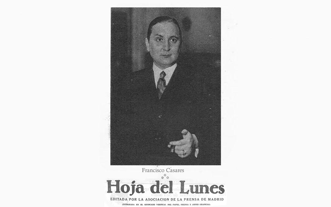 Semblanza y recuerdo del eminente filólogo por Francisco Casares