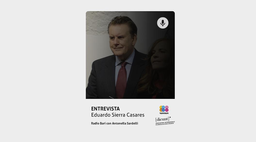 Entrevista a Eduardo Sierra Casares para DICUNT, Associazione di Lingua, Cultura e Ricerca sobre Julio Casares.